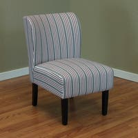 Sauzon Striped Upholstered Chair