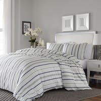 Carbon Loft Heimlich 3-piece Cotton Sateen Duvet Cover Set