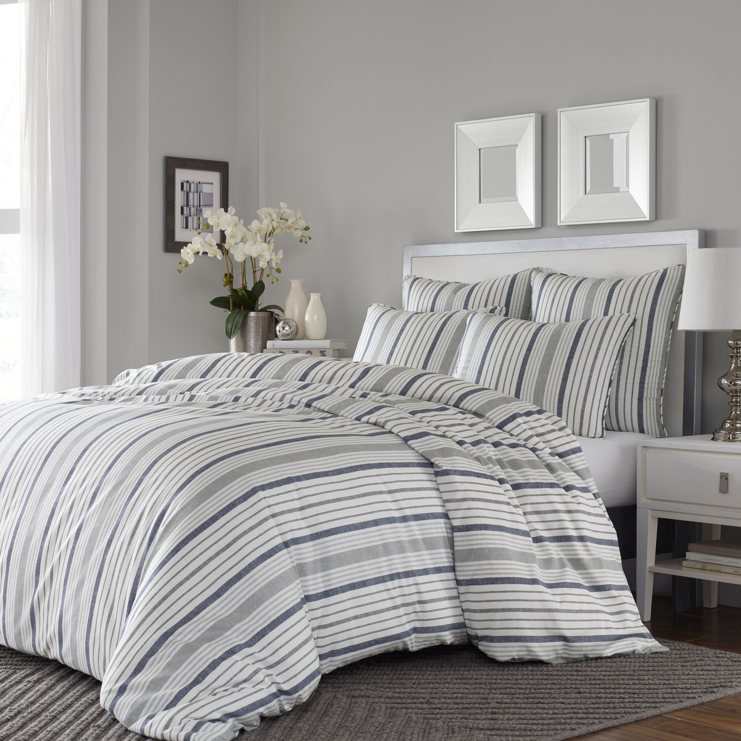 refined sateen taupe owl athene collection skylark cover products duvet linen