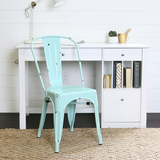 Metal Café Chair - Mint