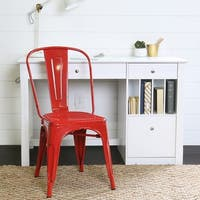 Metal Red Cafe Chair