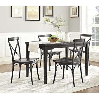 Dorel Living Parker 5-piece Wood & Metal Dining Set