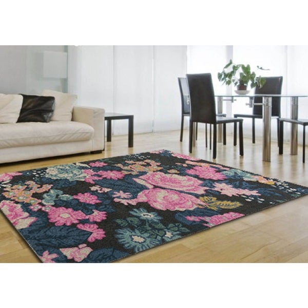 Hand-Tufted Alaska Wool Rug (4' x 6')