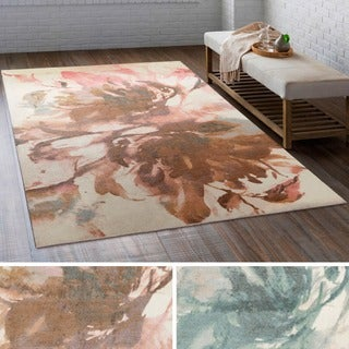 Meticulously Woven Ave Polyester Rug (4' x 6')