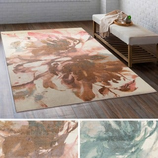 Meticulously Woven Ave Polyester Rug (5' x 7'6)
