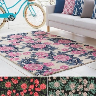 Hand-Tufted Avenue Wool Rug (8' x 10')