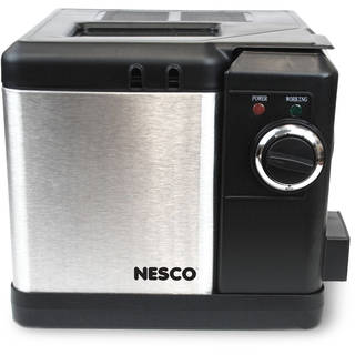 Nesco 2.5 L Deep Fryer, Stainless Steel