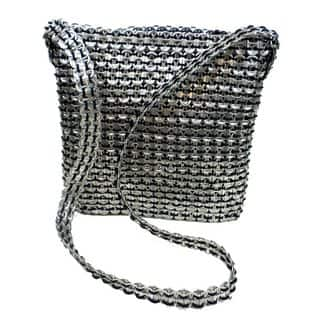 Roxanne Recycled Poptop Shoulder Bag (Mexico) (As Is Item)|https://ak1.ostkcdn.com/images/products/12302268/P91003438.jpg?impolicy=medium