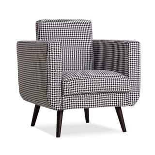 Fargo Geometric Print Arm Chair