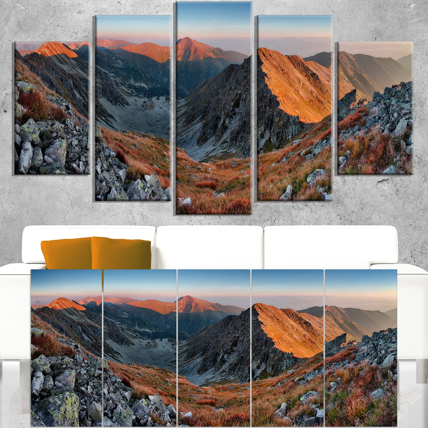Shop Slovakia Mountains At Autumn Landscape Wall Art Canvas Print Multi Color Overstock 12302815