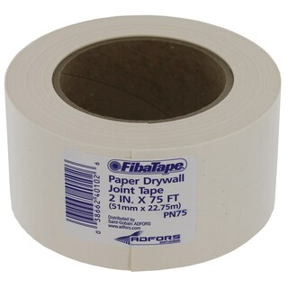 Saint Gobain FDW6620-U 2-inch x 75-foot White Professional Paper Joint Drywall Tape