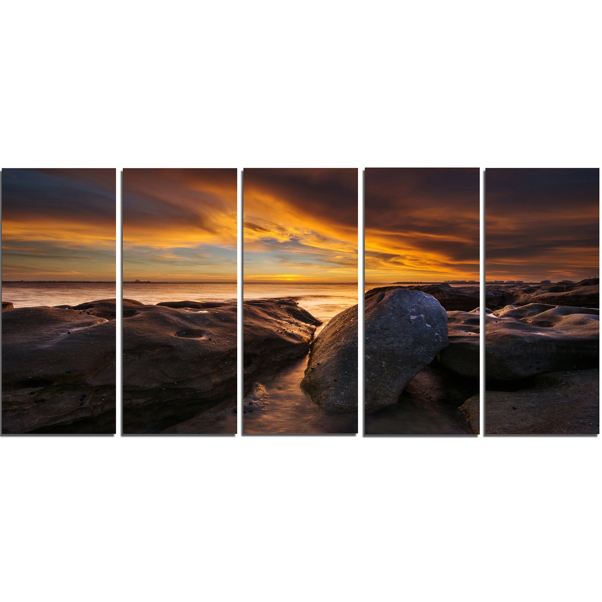 La Perhouse Beach Sydney Seashore Canvas Wall Artwork Print Overstock 12303026