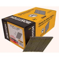 Bostitch Stanley S12D-FH 3.25-inch Smooth Shank 28-degree Stick Framing Nails (Pack of 2000)