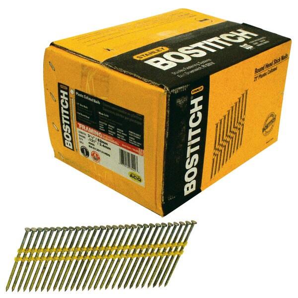 Shop Bostitch Stanley RH-S12D131HDG 3.25-inch Smooth Shank 21-degree ...