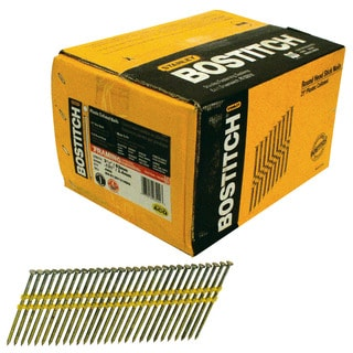Bostitch Stanley RH-S12D131HDG 3.25-inch Smooth Shank 21-degree Stick Framing Nails (Pack of 4000)