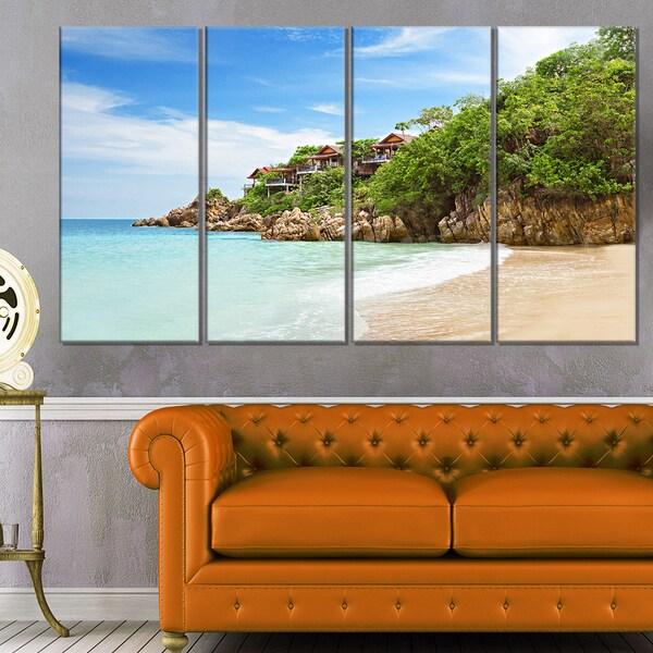 Resorts on the Rock - Seashore Canvas Wall Artwork