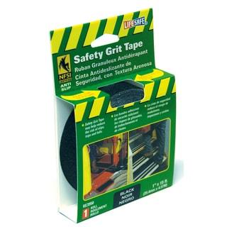 "Incom RE3950 1"" X 15' Black Gator Grip Anti Slip Safety Grit Tape"