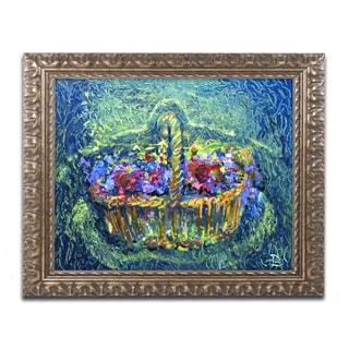 Lowell S.V. Devin 'Bayrose Potpourri' Ornate Framed Art