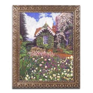David Lloyd Glover 'The Painter's Studio' Ornate Framed Art