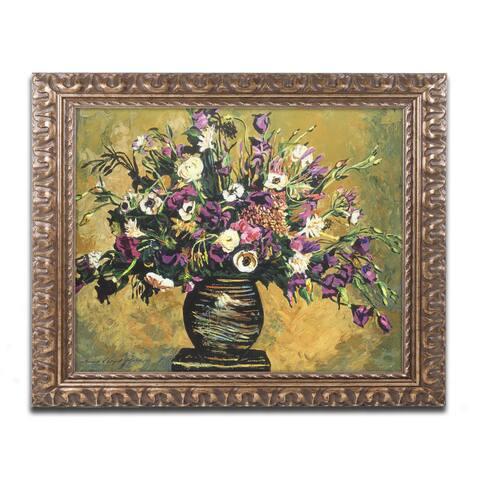 David Lloyd Glover 'Renaissance Still Life' Ornate Framed Art