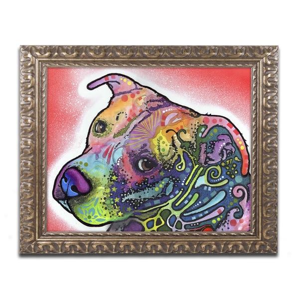 Dean Russo 'Mocha' Ornate Framed Art