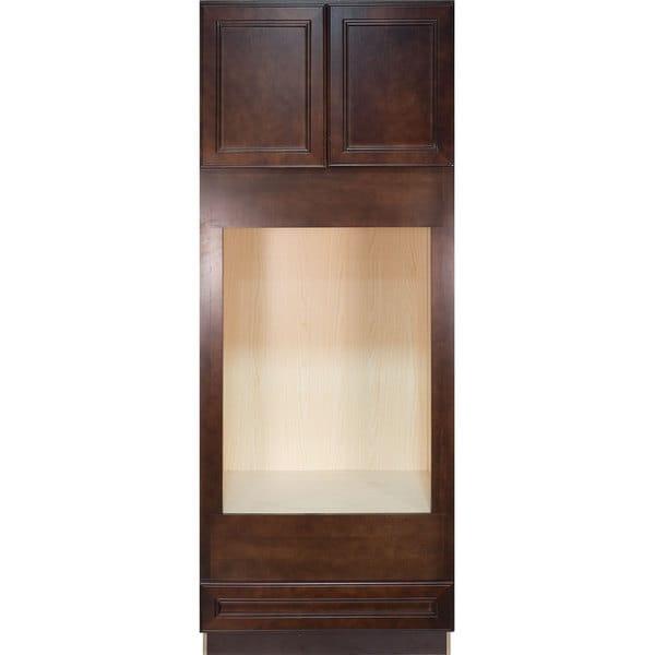 Cherry Wood Mahogany Storage Cabinets ~ Shop everyday cabinets leo saddle cherry mahogany wood