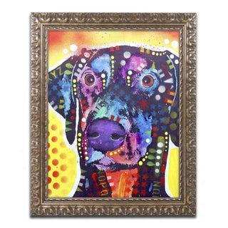 Dean Russo 'Dobie' Ornate Framed Art