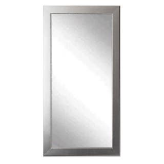 Multi Size Brandtworks Mod Euro Silver Floor Mirror Antique 2 Options Available