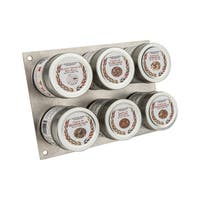 Luxury Gourment Seasoning and Sea Salt Collection 6 Tins