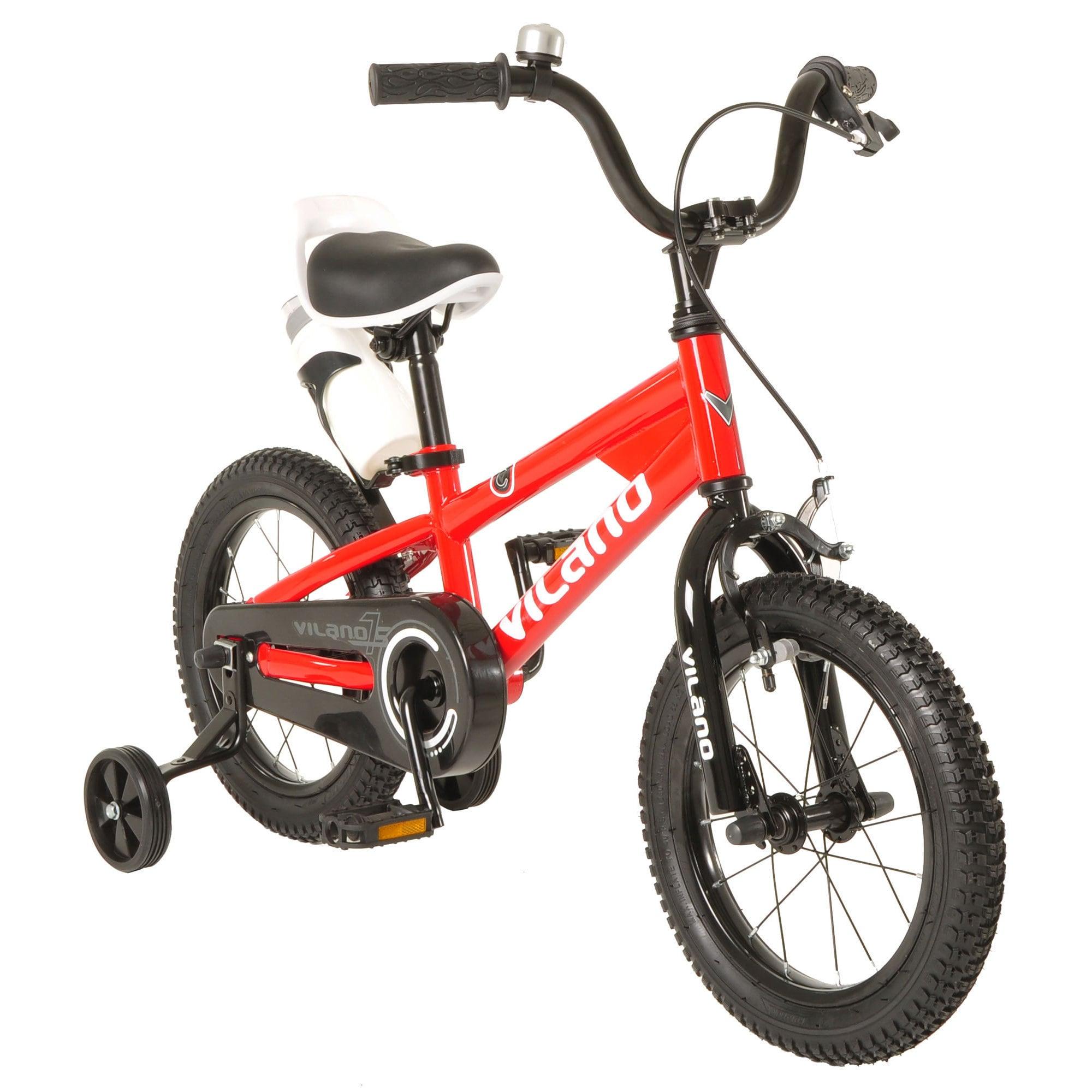 Vilano Boys' Kids' 16-inch BMX-style Bike (Red)