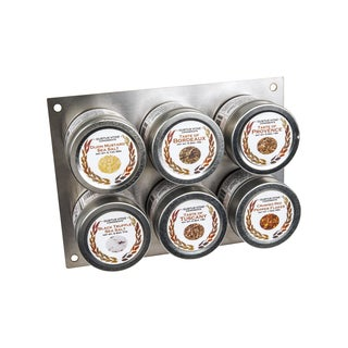 Gourmet European Landscape Collection Spice Tins (Set of 6)