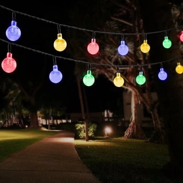 Outdoor String Lights Solar Decorative Light With 30 Led