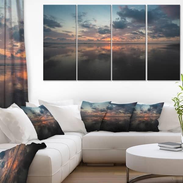 Matapalo In Costa Rica Beach Sunset Extra Large Seascape Art Canvas Overstock 12303919
