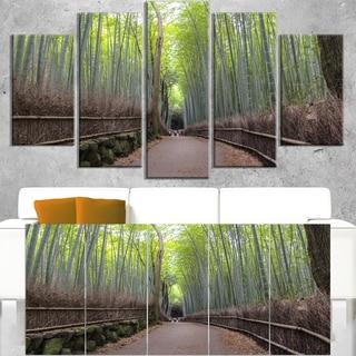 Arashiyama Bamboo Path Japan - Forest Canvas Wall Art Print