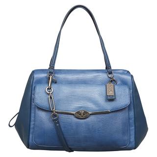 Coach Madison Large Madeline East/West Satchel Handbag