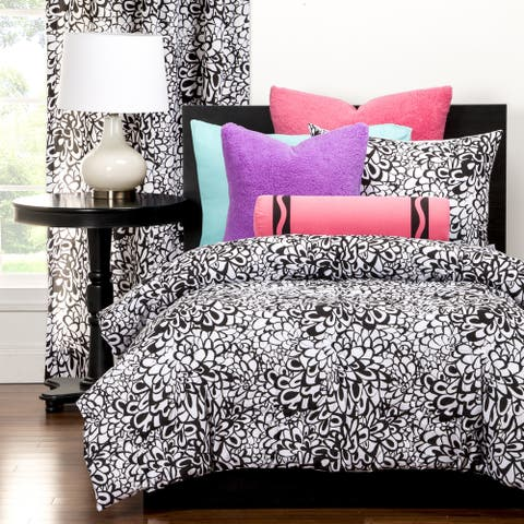 Crayola Graphic Blooms 3-piece Comforter Set