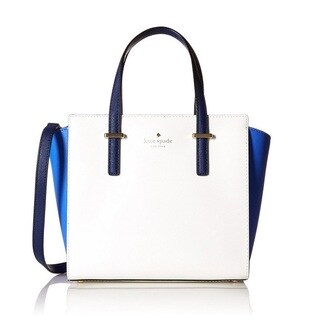 Kate Spade New York Cedar Street Small Hayden OceanBlue/White/Adventure Blue Satchel Handbag