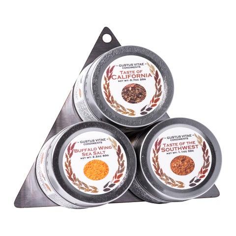 American Seasoning and Sea Salt Collection 3 Tins
