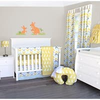 Safari Kangaroo 6-Piece Crib Bedding Set by Pam Grace Creations