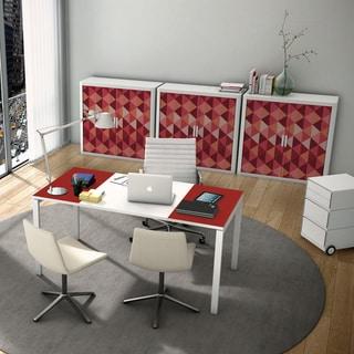 Paperflow EasyDesk Melamine/Metal 55-inch Long Training Table