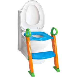 OxGord Portable Potty Training Ladder Step Seat