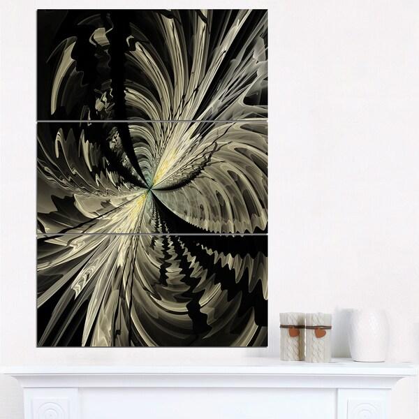 Fractal Black Flower Free Stock Photo: Shop Black And White Fractal Flower Design