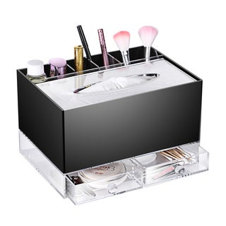 Ikee Design All-in-one Premium Acrylic Makeup and Toiletry Organizer