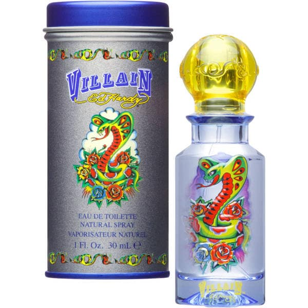 Ed Hardy By For Men Eau De Toilette Spray 3 4 Ounces: Shop Christian Audigier Ed Hardy Men's 1-ounce Villain Eau De Toilette Spray