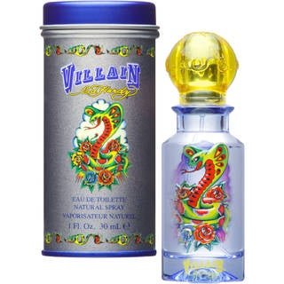 Christian Audigier Ed Hardy Men's 1-ounce Villain Eau de Toilette Spray