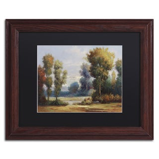 Daniel Moises 'Memory Lane' Matted Framed Art
