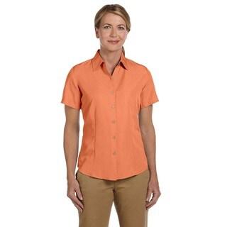 Barbados Women's Textured Camp Nectarine Shirt