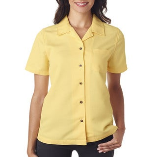Cabana Women's Breeze Camp Banana Shirt