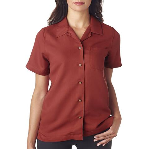 Cabana Women's Breeze Camp Brick Shirt