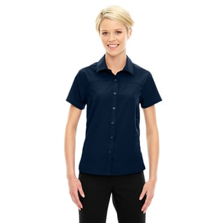 Charge Women's Recycled Polyester Performance Short-Sleeve Night 846 Shirt